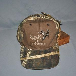 New Primos Speak The Language Camouflage Hat